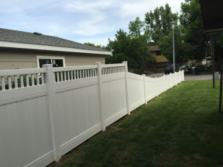 Sloped Fence Installation Billings, MT